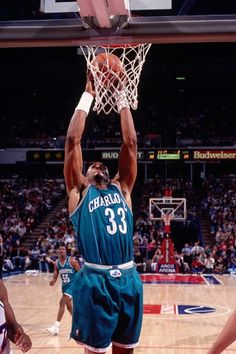 Alonzo Mourning - Charlotte Hornets, 1992–1995