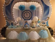 "Cinderella ( Disney) / Birthday ""Cinderella's Glass Slipper Gala"" 