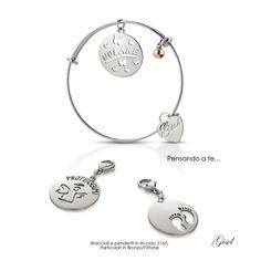 Gisel - Artecora || Produzione Gioielli, Italy Bead Jewellery, Handmade Beads, Alex And Ani Charms, Doll Accessories, Jewelry Making, Bracelets, How To Make, Bracelet, Jewellery Making