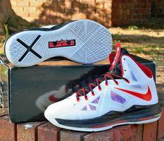 Big Discount Nike Lebron X 10 541100-100 Cheap sale X  Olympic G