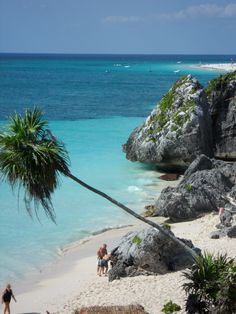 Mayan Ruins Beach - Tulum