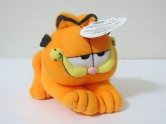"""Vintage GARFIELD Play By Play PAWS 6"""" Plush Stuff Animal Cat  #playbyplay"""