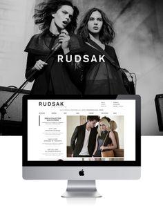 Rudsak E-commerce by Vanessa pepin, via Behance