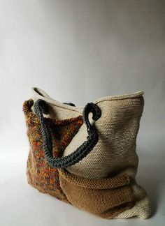 Would like a crossbody bag in this media crochet&knit/bags - janni flower <3