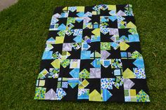 Quilt for my niece - pattern is Plume from the Fat Quarter Style book by It's Sew Emma.
