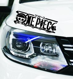 One Piece Car Lights Bumper Head Anime Stickers //Price: $8.00 & FREE Shipping //     #onepiecelover #onepieceatatime #dluffystore