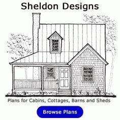 Sheldon Designs Cabin Plans