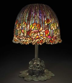 Design specialist Beth Vilinsky illuminates the origins of Louis Comfort Tiffany's masterpiece, illustrated with upcoming lots at Christie's Stained Glass Lamps, Leaded Glass, Fused Glass, Gustav Klimt, Modern Painting, Art Nouveau, Inspiration Drawing, Fantasy Magic, Art Tumblr