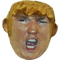 """Donald Trump Pinata, 17"""" Politician Presidential Candidate Parody for Beating, Larger Than Life Head"""