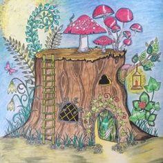 Kreativ Blog Von Ke Si Mein Zauberwald Johanna Basford Coloring