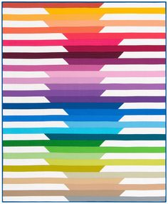 This quilt pattern is designed using Robert Kaufman's Kona® Cotton Solids 2O14…