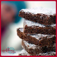 ¿Y cómo antojarse de unos ricos Brownies de Chocolate? ☺