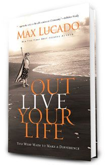 Out Live Your Life by Max Lucado - Does God still free hearts, minds and bodies from the ravages of sin and poverty? The answer is yes! He does it through you, and in Outlive Your Life he challenges you to make a difference that will last beyond your time on earth. Take a stand for children, widows, and families who only need an opportunity to live.    One hundred percent of the author royalties from Outlive Your Life products will benefit children and families through World Vision and other mi...