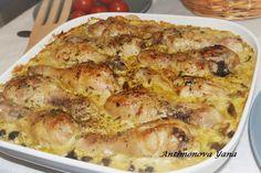 Курица в горчичном соусе с грибами / IP Neo