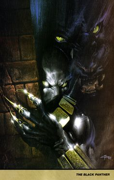 Gabriele Dell'Otto - Black Panther