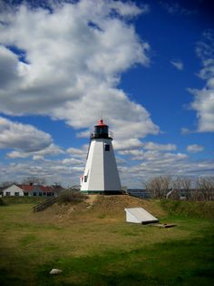 Gurrent Point Lighthouse, Plymouth Mass, a great place to view the bay packed full of interesting history