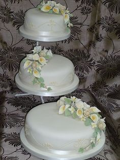 cala lily wedding cake | Flickr - Photo Sharing!