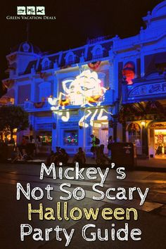 Mickey's Not So Scary Halloween Party Guide 2020 Best Family Vacations, Family Vacation Destinations, Vacation Deals, Disney World Halloween, Scary Halloween, Halloween Party, Disney Resorts, Disney Vacations, Travel Hacks