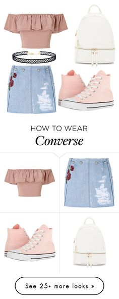 """#730"" by kpopkdrama1 on Polyvore featuring Dolce&Gabbana, Miss Selfridge, Urban Expressions, Converse and LULUS"