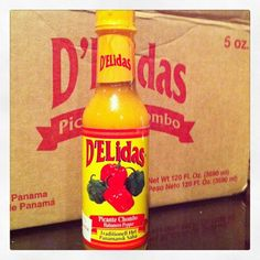 Picante D'Elidas- #Panama If you can't make it yourself, this is the other option: Panama's Favorite Hot Sause