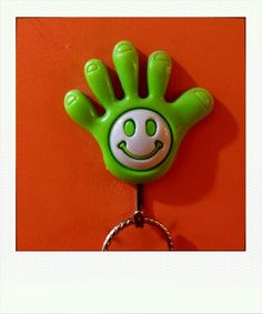Hand smiling ~ Thailand 2013