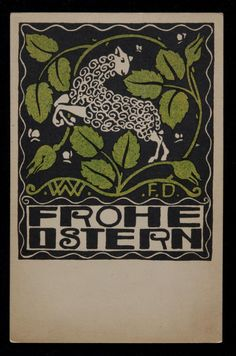 Wiener Werkstatte postcard - 1908-1914
