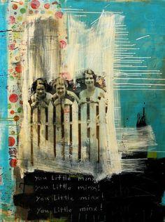 Lanoue Fine Art - Melody Postma #art #collage #mixedmedia