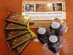 Loiza Dark Chocolate from Puerto Rico.