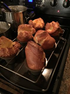 My Yorkshire pudding. Beauties!