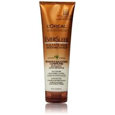 L'Oreal Paris EverSleek Sulfate-Free Smoothing System Reparative Smoothing Conditioner, 8.5 Fluid Ounce -- Click on the image for additional details. (This is an affiliate link) #HairCare
