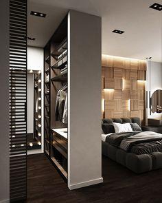 Wardrobe Design Bedroom, Bedroom Closet Design, Home Room Design, Dream Home Design, Home Decor Bedroom, Modern Bedroom, Home Interior Design, Luxury Bedroom Design, Wardrobe Closet