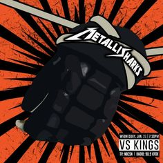 It's Kings-Sharks Rivalry Night in San Jose; it is also Metallica Night - ProHockeyTalk Metallica Album Covers, Metallica Albums, King Shark, San Jose Sharks, Lp Cover, Concert Posters, Real Life, Spiderman, Superhero