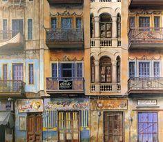 """""""MORGENLÄNDISCHES"""" - Öl auf Holz - 205 x 235 cm Vienna, Museum, Mansions, House Styles, Home Decor, Mansion Houses, Homemade Home Decor, Manor Houses, Fancy Houses"""