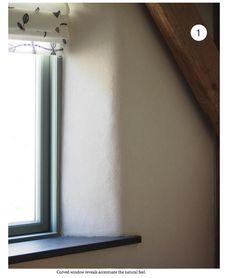 curved windows, screenshot from the hempcrete book