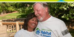 Some of our volunteers wield a different set of tools. Meet John and Jo Flowers of Southern Crescent Habitat for Humanity. Habitat For Humanity, Giving Back, Volunteers, Better Life, Habitats, The Help, Traveling By Yourself, The Neighbourhood, Southern