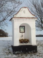 Chvalovice - kaplička - Jihočeské kapličky Czech Republic, Gazebo, Outdoor Structures, Kiosk, Cabana, Bohemia
