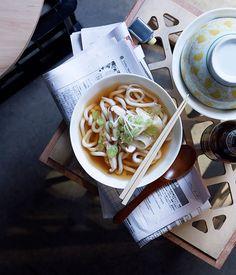Australian Gourmet Traveller recipe for kake udon.
