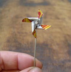 Teenyweeny Windmill held   Flickr - Photo Sharing!