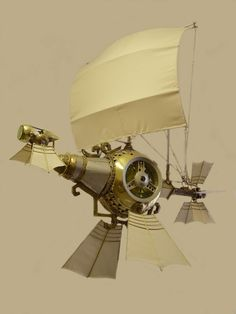 What's that emerging from the mist? A #Steampunk Galleon? That's not a Hubcap Creature! Oh yes it is... :D