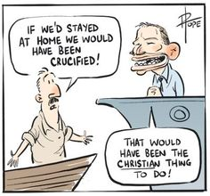 Refugees - Boat People - Tony Abbott - Liberal Policy - Oppositikon Policy by David Pope - 11July 2011
