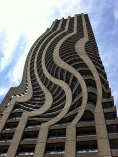 Systems Art | the Shakespeare Tower at the Barbican | Brutalist architecture maniuplated by photography