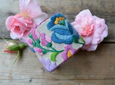 EMBROIDERED CUFF BRACELET  Gypsy Moon