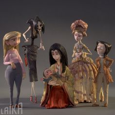 "dasuta: "" laikaworld: ""Happy Mother's Day to all the mums out there! Coraline Jones, Coraline Art, Coraline Movie, Tim Burton Kunst, Tim Burton Art, Clay Animation, Animation Stop Motion, Animation Film, Happy Mother S Day"