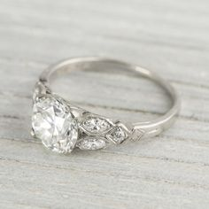 Erstwhile Jewelry Company, Vintage Rings.  Some of the most beauty engagement rings I've seen. Vintage is my favorite.