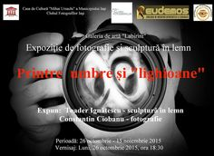 "Expozitie de fotografie si sculptura in lemn @Galeria de Arta ""Labirint"" Movie Posters, Film Poster, Billboard, Film Posters"