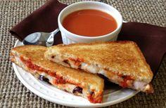 Pizza Lover's Grilled Cheese (Make That Sandwich 2012 Finalist) #MezzettaMemories