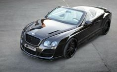 #Bentley continental from top view