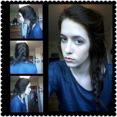 My take on Frozen's Elsa. #hair #makeup #style #frozen #elsa #disney