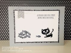 Cats - SU - You Little Furball stamp set, Banner Punch