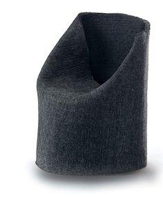 """François AZAMBOURG (Né en 1963)  Prototype du fauteuil """"Pouf"""" - 2001  Tube de feutre en polyester thermodurcissable  Pièce signée et datée """"2001"""".  Réalisation Duflot"""